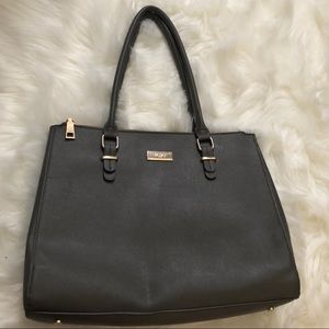 Authentic BCBG Large Gray Tote Bag